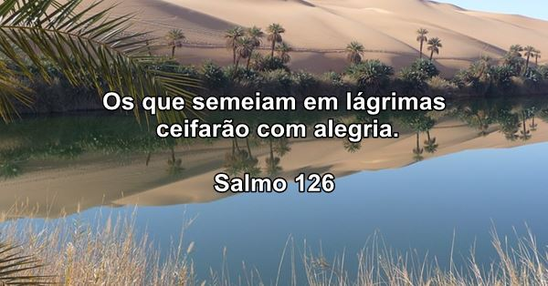 Confiar em Deus - Salmo 126